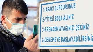 Erzurum'daki 'gizemli yol' büyük ilgi görüyor