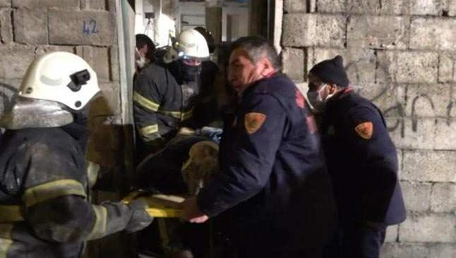 Çöken metruk binadan acı haber geldi
