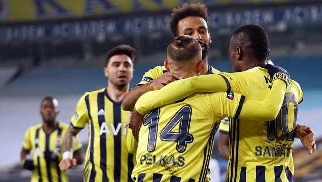 Fenerbahçe'nin ataklarına Ankaragücü dayanamadı
