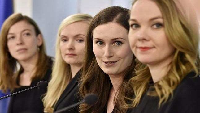 Finlandiya'yı kadınlar yönetiyor