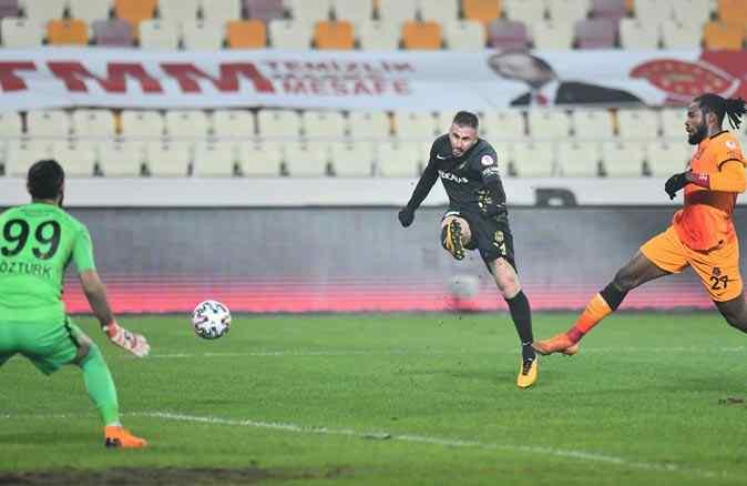 Galatasaray'ı Yeni Malatya'yı penaltılarda yendi