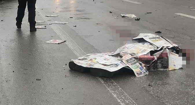 Konya'da acı olay! Gazete dağıtıcısı kazada hayatını kaybetti