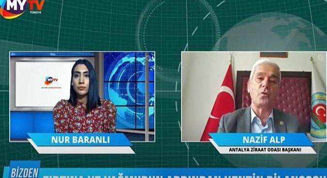 Ziraat Odası Başkanı Nazif Alp'ten Tarsim Sigortası çağrısı