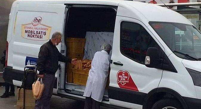 İBB'nin mobil büfelerle ekmek satması yasaklandı