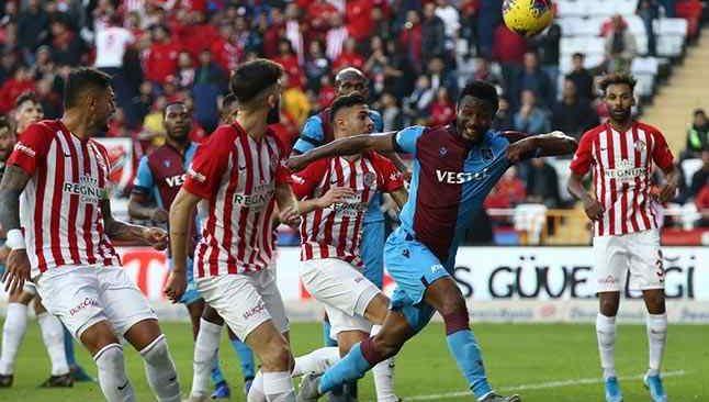 Geri sayım başladı! İşte Antalyaspor - Trabzonspor'un ilk 11'leri