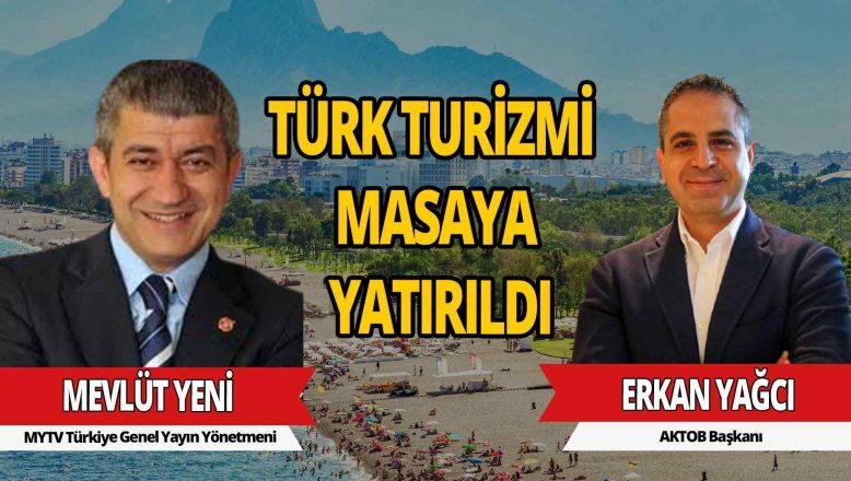 AKTOB Başkanı Erkan Yağcı'dan bomba turizm açıklamaları!