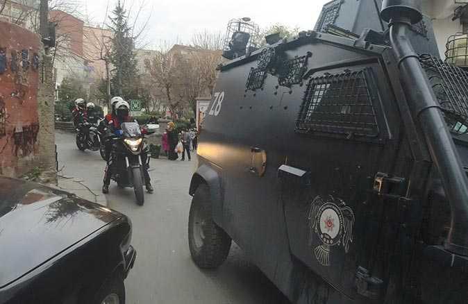 İstanbul'da hareketli dakikalar! Okmeydanı'nda giriş-çıkışlar kapatıldı