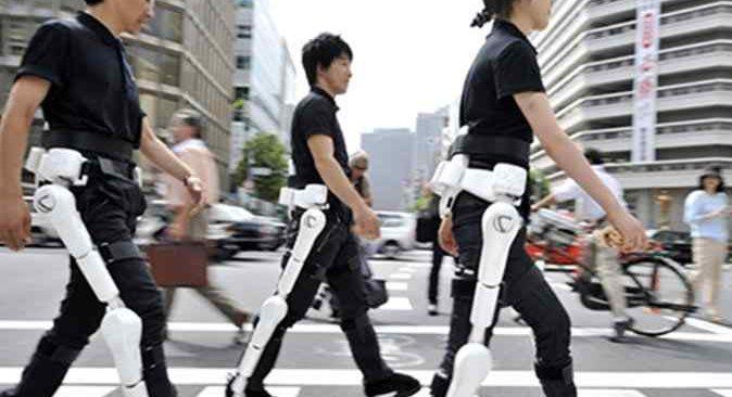 Son 5 yıldır giyilebilir robotlar Japonya'nın gözdesi oldu