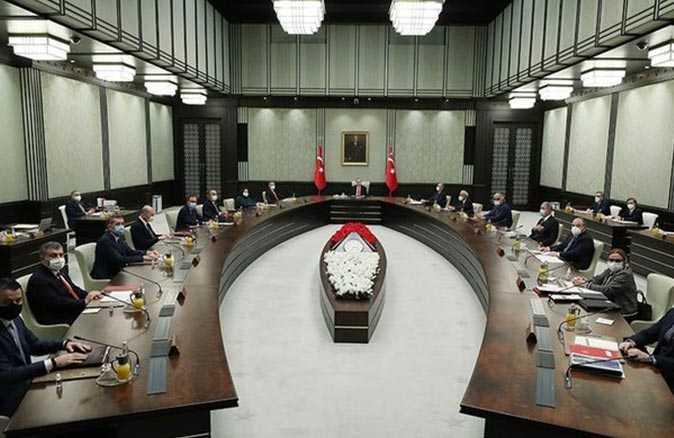 Yılın ilk Kabine toplantısı bugün yapılacak