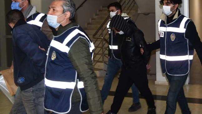Antalya'da 'Sök, Kes, Sat' operasyonu