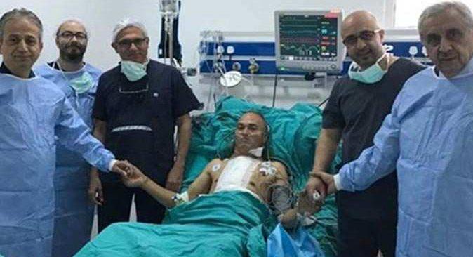 Akdeniz Üniversitesi Hastanesi'nden KKTC'ye ekip gönderildi, üçüncü kalp nakli gerçekleştirildi