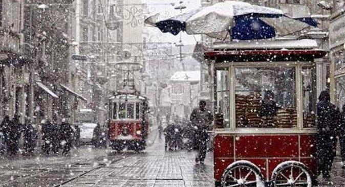 Meteoroloji İstanbul için kar tarihi verdi