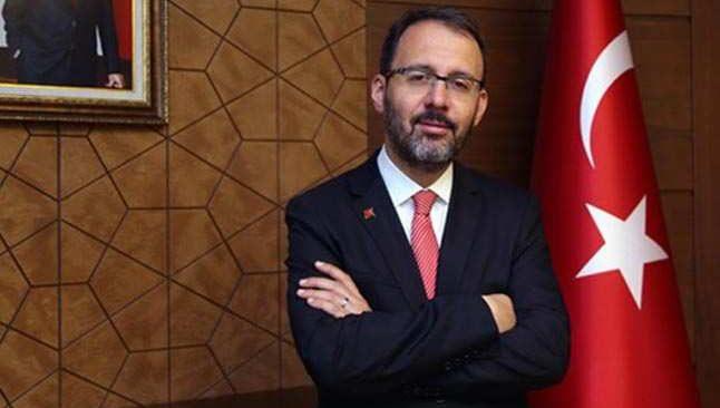 Bakan Kasapoğlu'ndan Trabzonspor'a tebrik mesajı