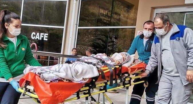 89 hasta belediye araçlarıyla hastanelere sevk edildi