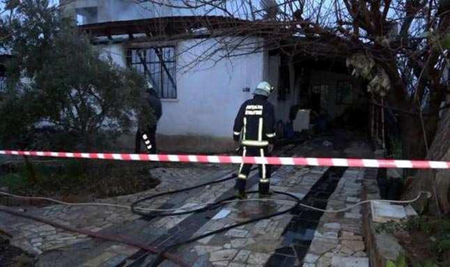 Kahreden ölüm! Çıkan yangında yatalak kadın hayatını kaybetti