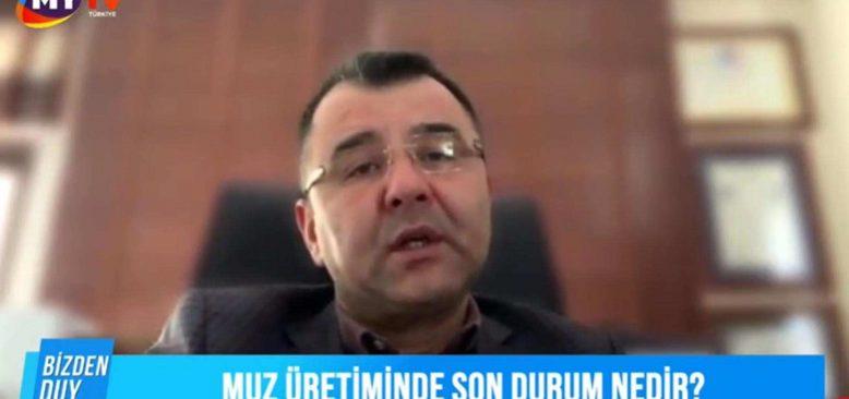 Bizden Duy 27 Ocak 2021-Muz üretimde son durum. MUZBİR Başkanı Mustafa Şenli canlı yayında açıklıyor