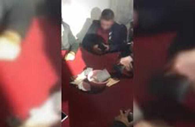 Polis müştemilatı bastı! Ceza yağdı