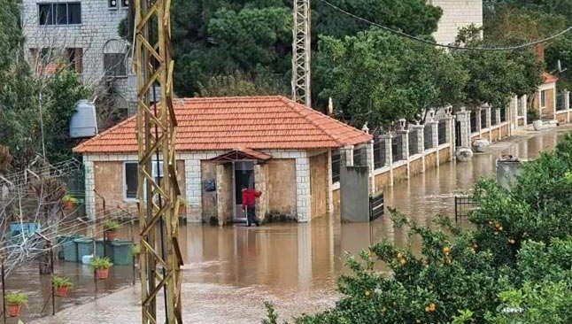 Lübnan'da sel felaketi