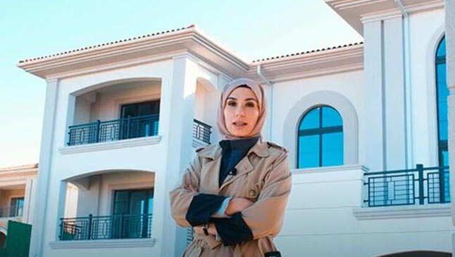 Masterchef Güzide'nin villasını tanıtması çok konuşuldu:'Ev bizim'