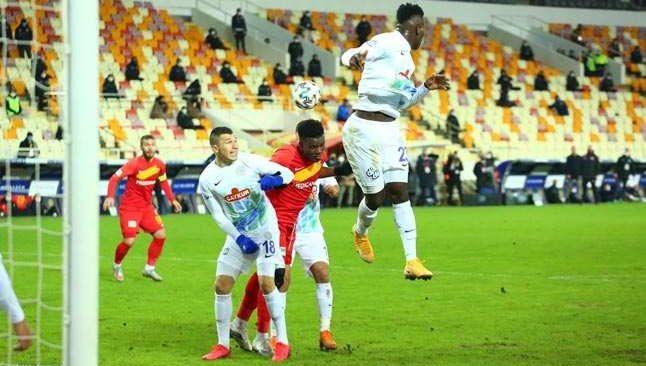 Malatyaspor galibiyet hasretine son verdi