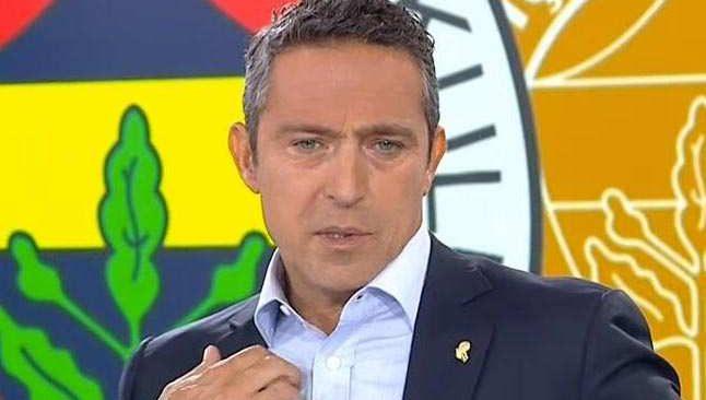 Fenerbahçe Başkanı Ali Koç çok konuşulacak transfer açıklaması