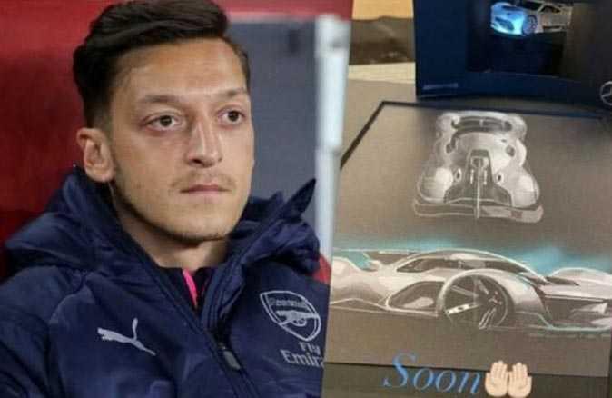 Mesut Özil'in yeni arabası