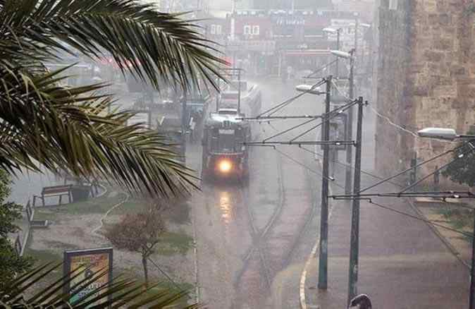 14 Ocak 2021 Perşembe Antalya'da hava durumu