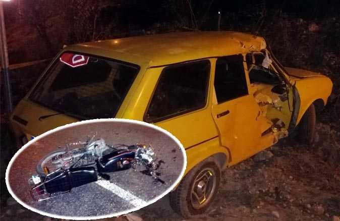 Antalya'da otomobille çarpışan motosikletin sürücüsü hayatını kaybetti