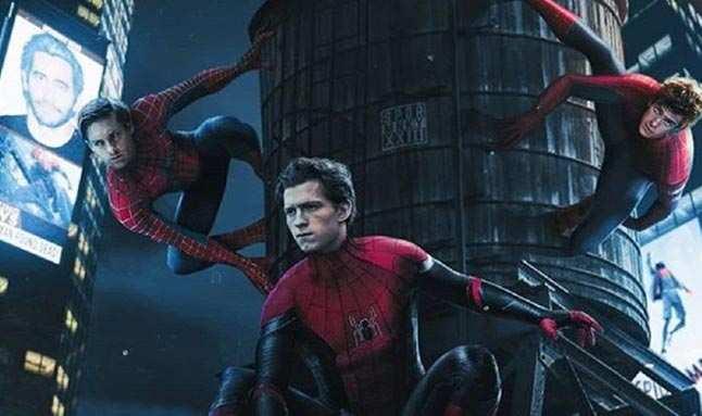Spider-Man 3 setinden görüntüler