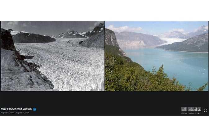 NASA'dan iklim değişikliğini gözler önüne seren fotoğraflar