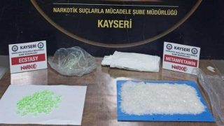 Kayseri'de uyuşturucu tacirlerine darbe