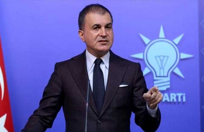 AK Parti Sözcüsü Çelik: ABD'de şiddete başvuran protestolar yanlış ve hukuksuzdur