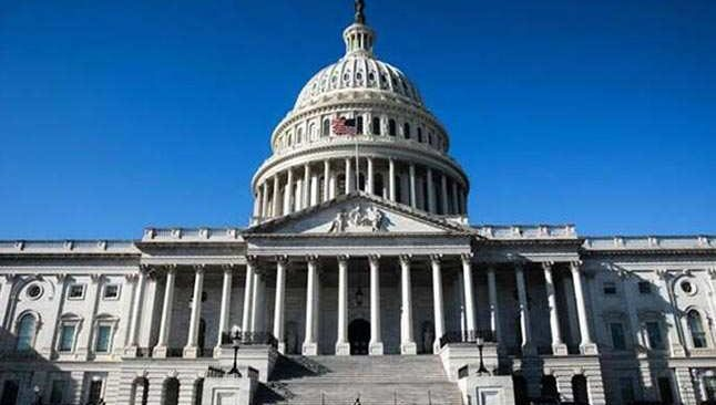 ABD Kongre Binası kapatıldı!