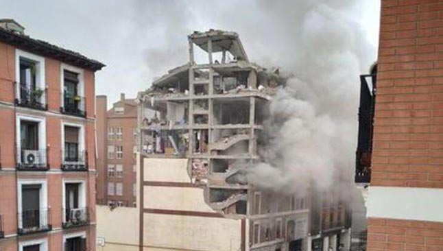 SON DAKİKA! İspanya'da şiddetli patlama
