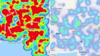 Koronavirüs risk haritası maviye döndü