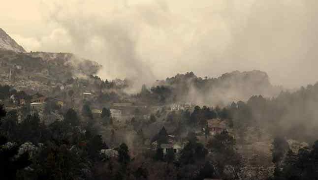 Yaşar Tabur'dan çarpıcı açıklama:' Eskiden dam boyu kar olurdu!' İşte Torosların hali