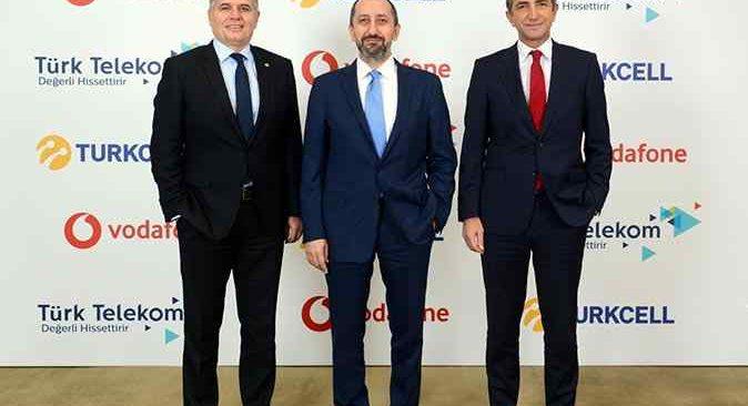 Turkcell, Türk Telekom ve Vodafone yerli uygulamalar için bir araya geldi
