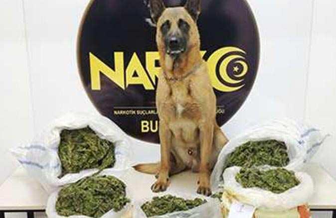 Antalya Karayolu'nda uyuşturucu operasyonu