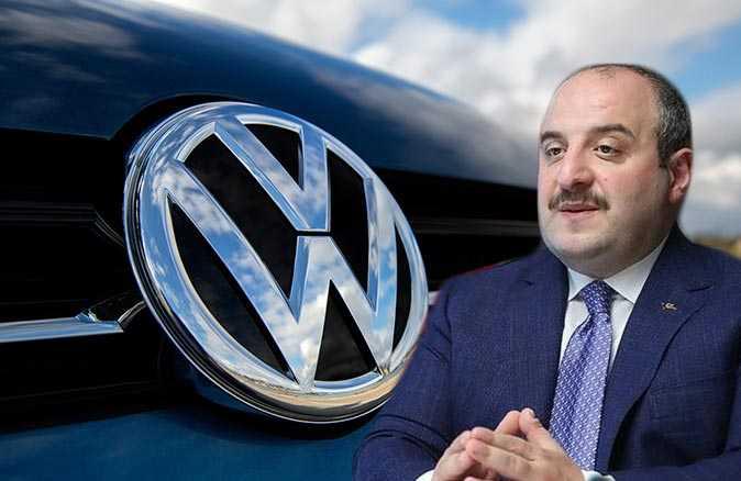 Sanayi ve Teknoloji Bakanı Mustafa Varank'tan Volkswagen açıklaması