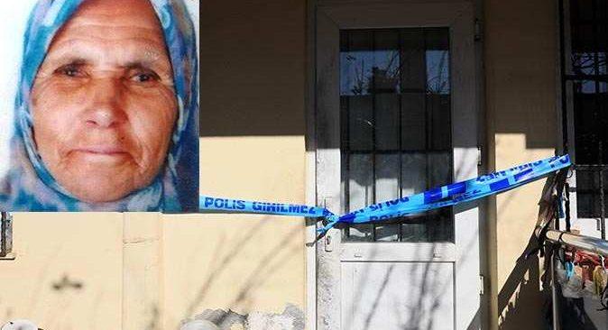 Evinde ölü bulunan yaşlı kadının cinayete kurban gittiği anlaşıldı