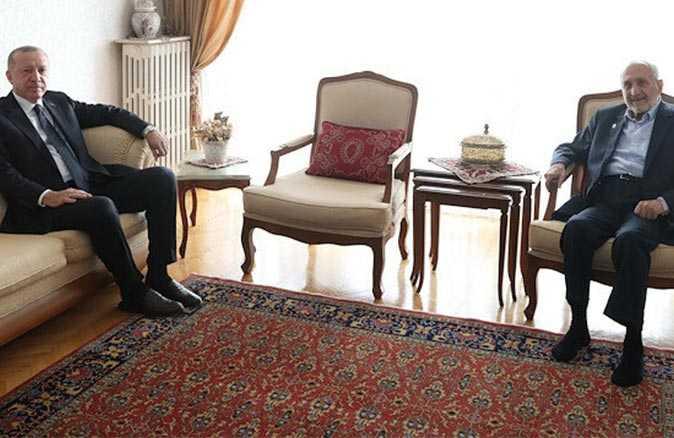 Cumhurbaşkanı Erdoğan'dan Oğuzhan Asiltürk'e ziyaret