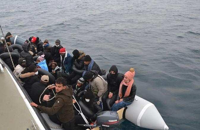 Sahil Güvenlik ekipleri 31 göçmeni kurtardı