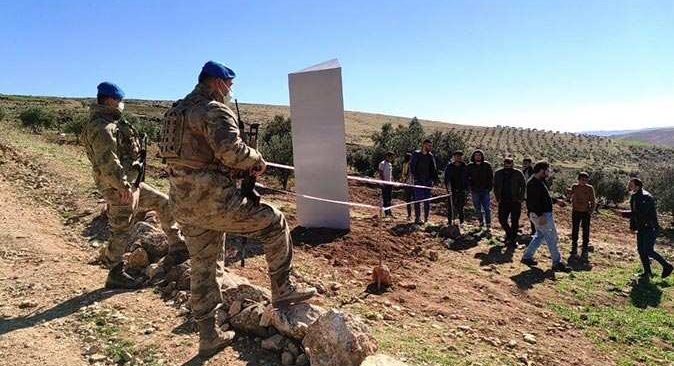 Göbeklitepe'de jandarmanın monolit nöbetinde 3. güne girildi