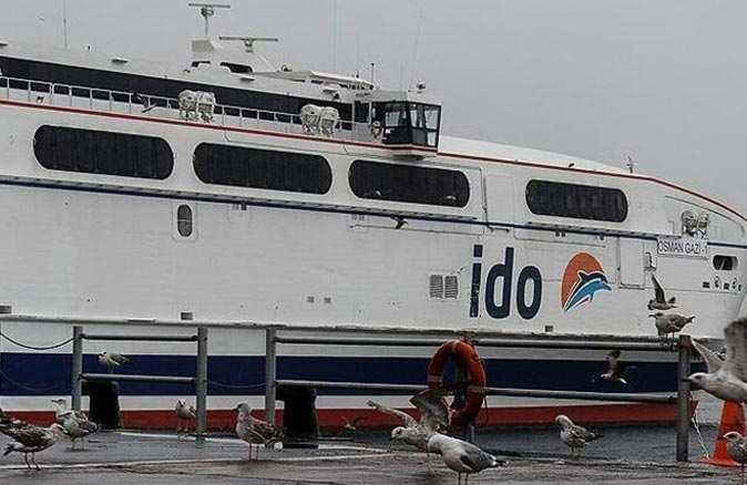 İDO, BUDO ve Şehir Hatları'nda seferler iptal edildi