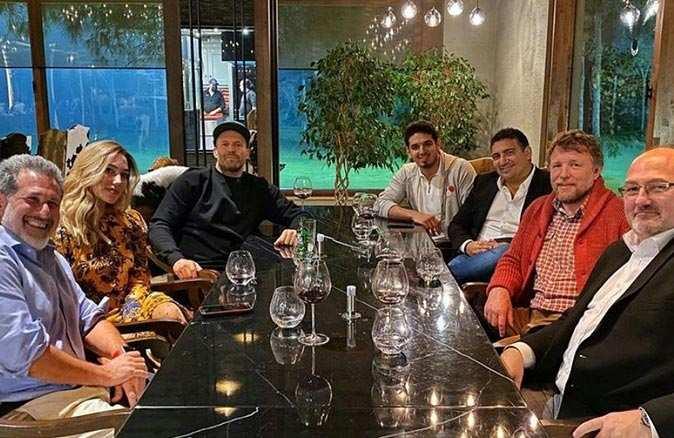 Jason Statham, Ali Şafak Öztürk ile akşam yemeğinde bir araya geldi