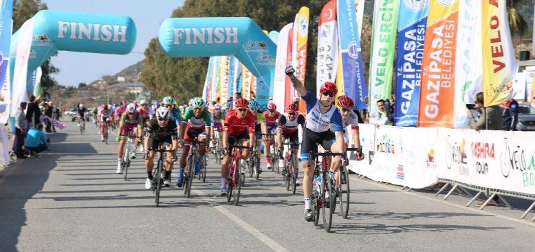 Grand Prix Yol Bisikleti Yarışları'nın Gazipaşa etabı tamamlandı