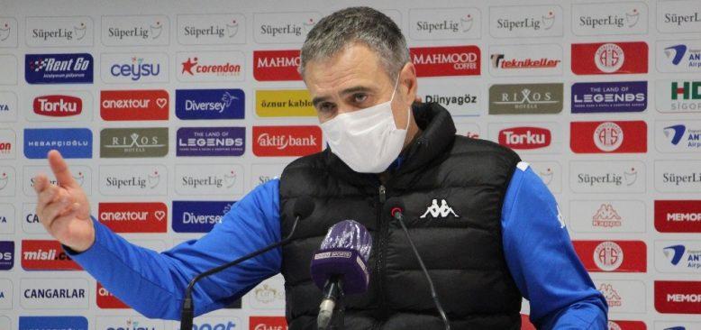 Ersun Yanal: Rakip çok iyi savunma yaptı