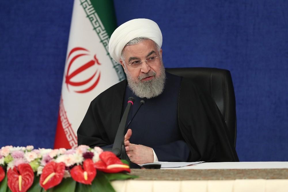 İran Cumhurbaşkanı Ruhani net konuştu!