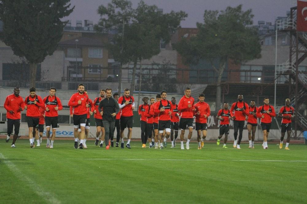 Hatayspor, Alanyaspor maçının hazırlıklarına başladı