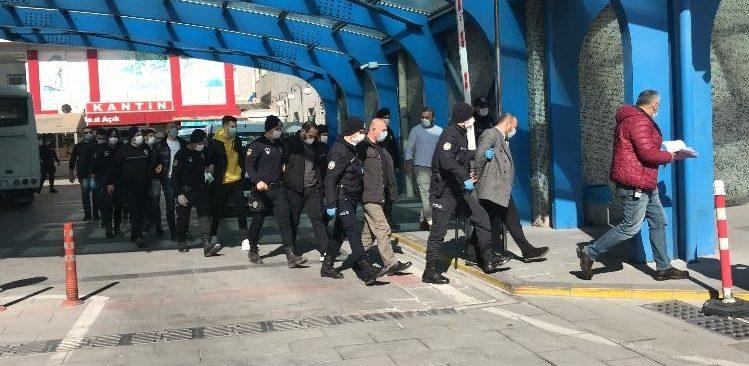 Cinayetle biten silahlı kavgaya 11 tutuklama